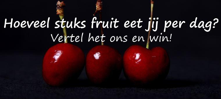 Hoeveel stuks fruit eet jij?